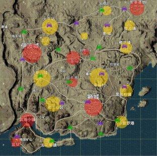 和平精英沙漠地图资源是